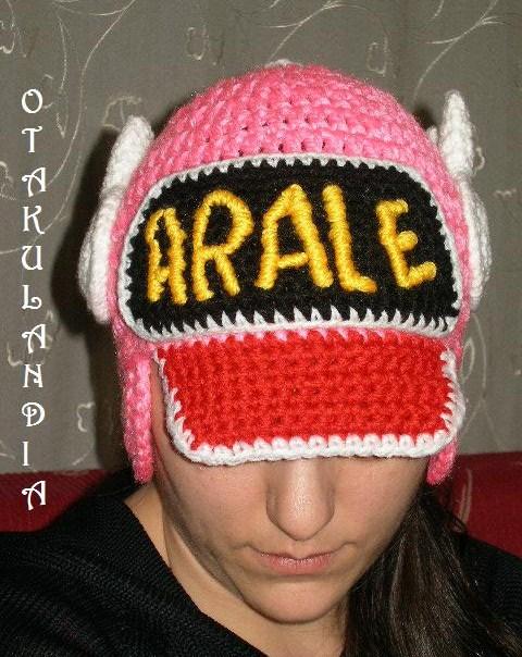 arale gorro crochet-otakulandia.es