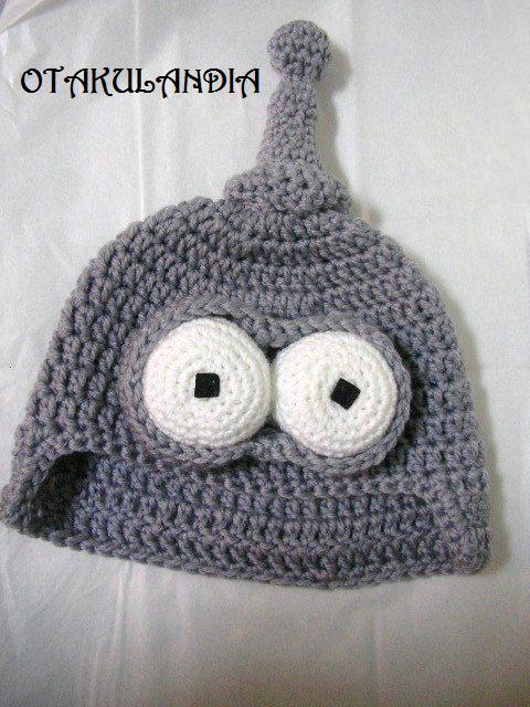 bender futurama-gorro crochet-otakulandia.es (2)