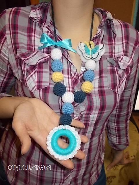 collar mariposa azul (5)