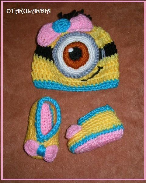 disfraz-minions-nena-bebe-crochet-otakulandia.es