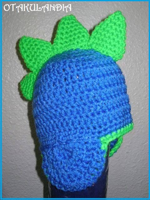 gorro dragon azul crochet-otakulandia.es (2)