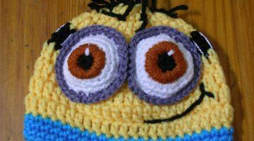 minion-gorro-crochet-otakulandia.es