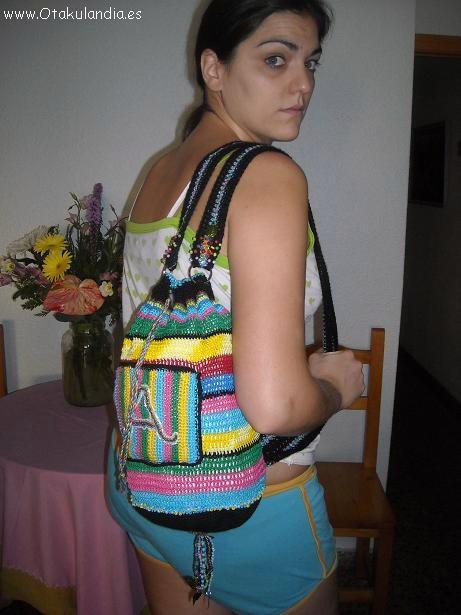 Mochila Crochet personalizada