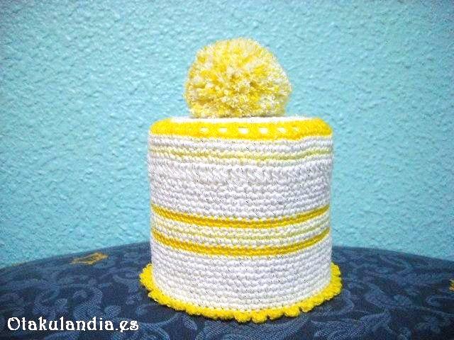 Portarollos Higi�nico crochet