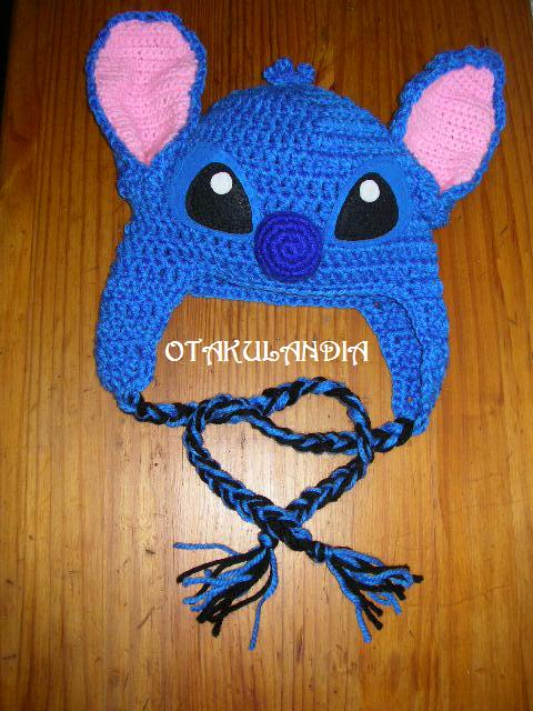 Stitch gorro crochet