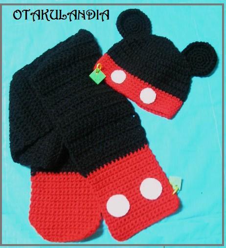 Conjunto Mickey-otakulandia.es