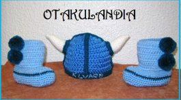 conjunto vikingo botitas-otakulandia.es