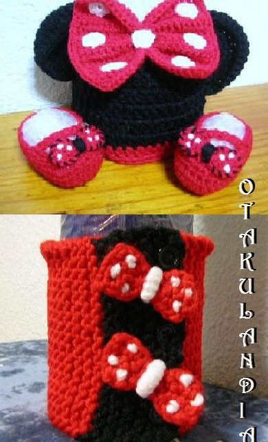 cosplay minnie 3 piezas-crochet-otakulandia.es