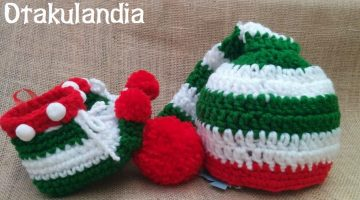 elfo navidad conjunto bb crochet-otakulandia.es (1)