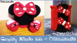 minnie cosplay 0-3 meses-crochet-otakulandia.es