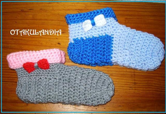 pantuflas sra. lazo crochet