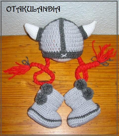 vikinga-disfraz-bebe-crochet-otakulandia.es