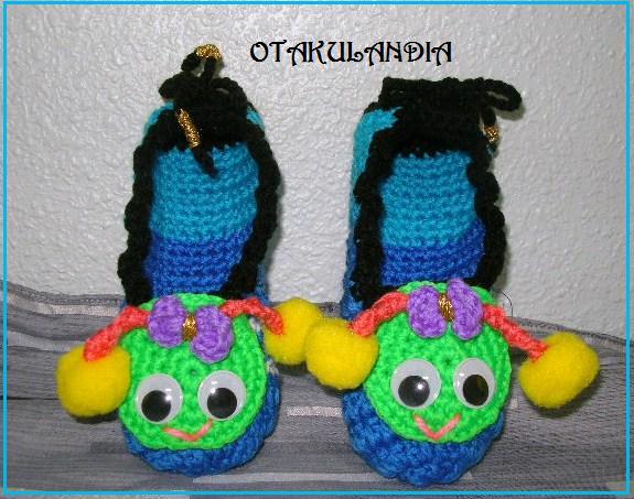 zapatillas gusanito-otakulandia.es