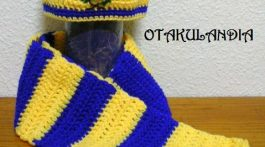 conjunto futbol crochet-otakulandia.es