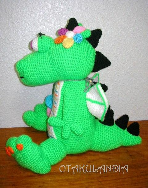 dragon nena green-otakulandia.es