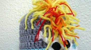 gorros punky baby crochet-otakulandia.es