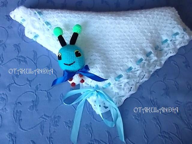 toquilla blanca crochet-otakulandia.es