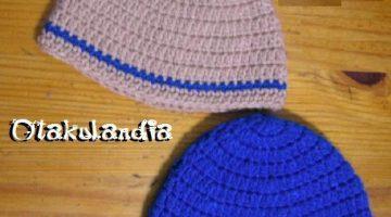 Gorros Básicos Caballero Crochet