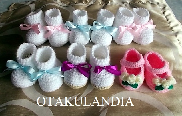botitas crochet - otakulandia (1)