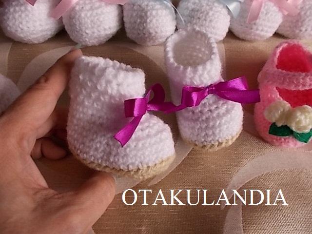 botitas crochet - otakulandia (2)