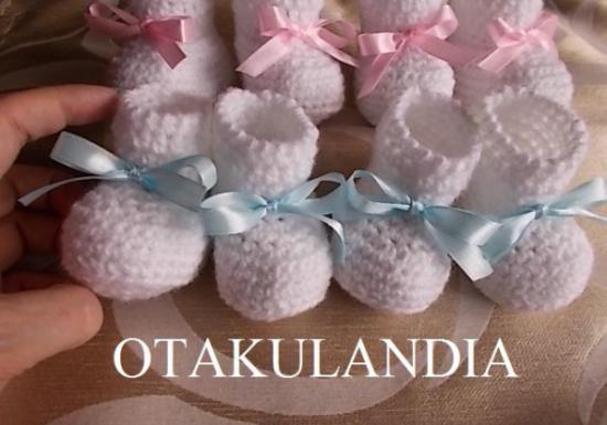 patuco bebe crochet-nene-otakulandia.es (1)