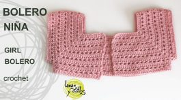 tutorial bolero nena crochet-otakulandia.es