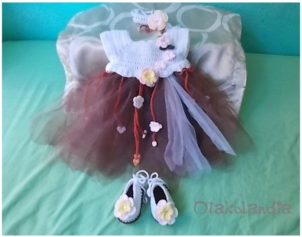 Vestido princesa romantico-3-6m.otakulandia.es