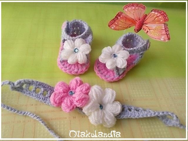 conjunto sandalias-diadema nena rosa-gris-blanco-otakulandia.es (1)