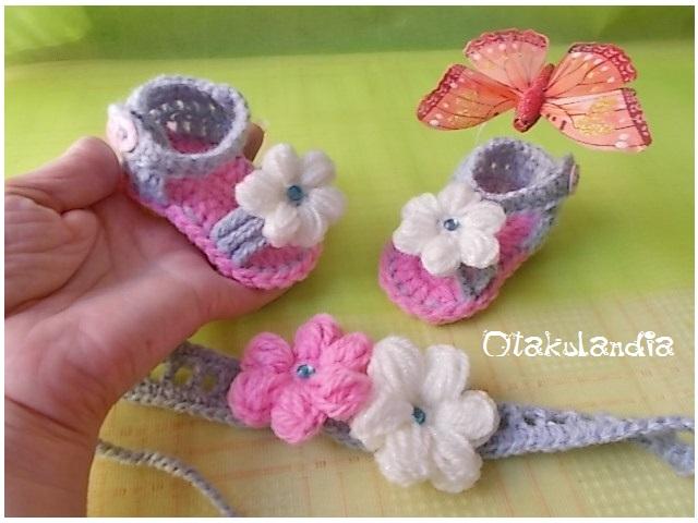 conjunto sandalias-diadema nena rosa-gris-blanco-otakulandia.es (2)