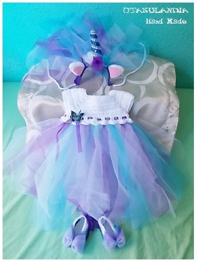 vestido unicornio azul-violeta 3-6m-otakulandia.es  (3)