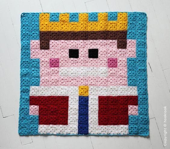 100 MantasEsquemas Grannys Pixel (3)