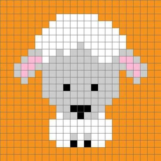 100 MantasEsquemas Grannys Pixel (5)