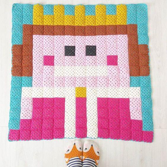 100 MantasEsquemas Grannys Pixel (6)