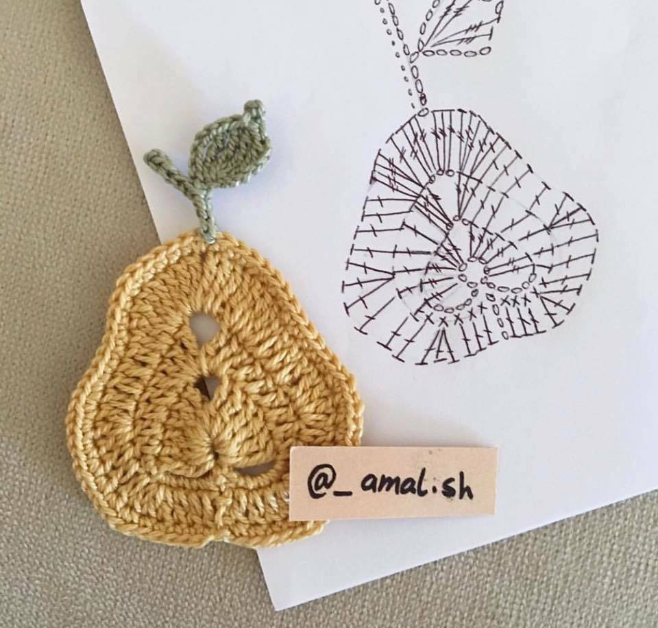 18 Apliques - Esquemas Crochet   Otakulandia.es
