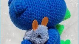 bebe dragon azul-crochet-otakulandia.es