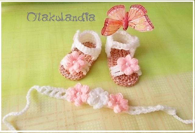 conjunto sandalias-diadema nena crema-melocoton-otakulandia.es (1)