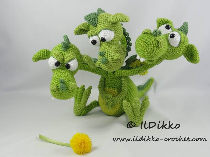 20 Dragoncitos de Dulce en Crochet