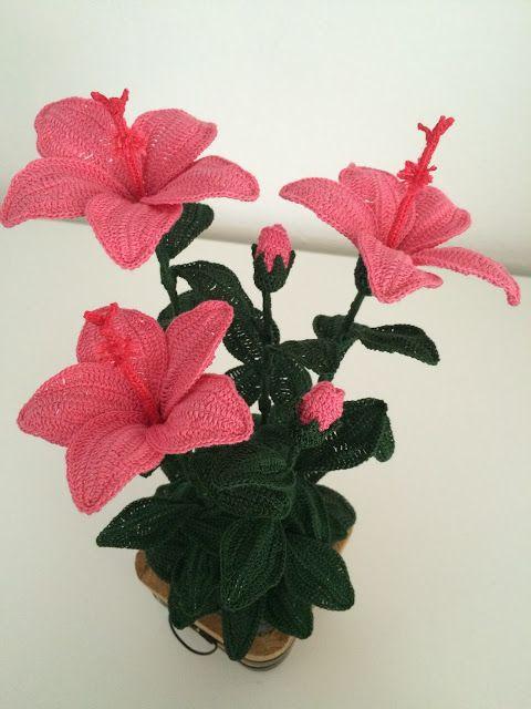 flores crochet decoracion-otakulandia.es (1)