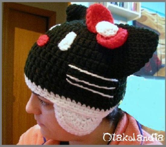 gorro kitty siniestra-crochet-otakulandia.es (2)