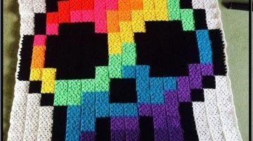 manta calavera arco iris-otakulandia.es (1)