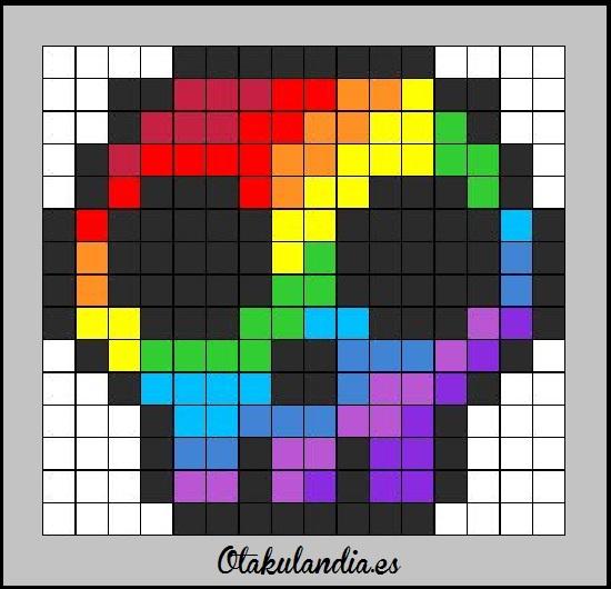 manta calavera arco iris-otakulandia.es (2)