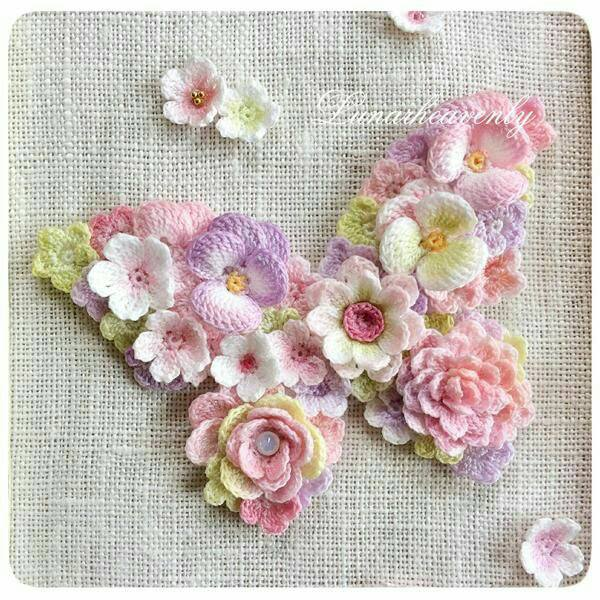mariposa broche crochet-otakulandia.es (2)