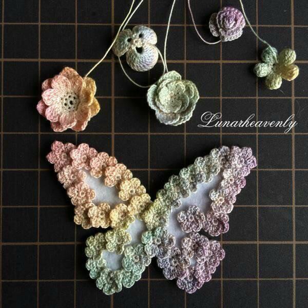 mariposa broche crochet-otakulandia.es (3)