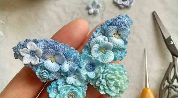 mariposa broche crochet-otakulandia.es (4)