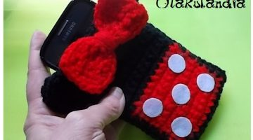 minnie roja funda movil-otakulandia.es (2)