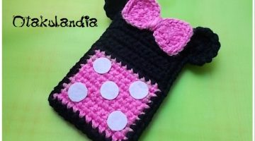 minnie rosa funda movil-otakulandia.es