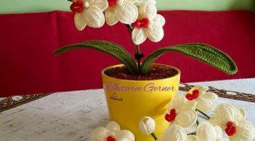 orquideas tutorial crochet-otakulandia.es