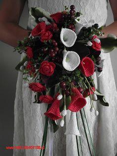 ramo bouquet novia crochet-otakulandia.es (10)