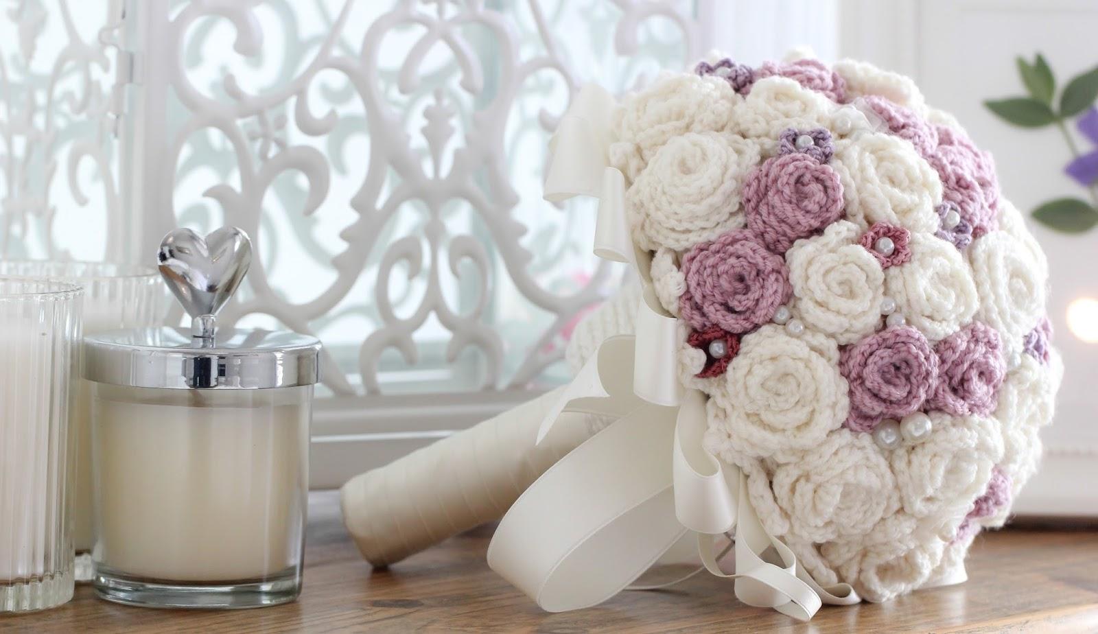 41 Bellos Ramos Bouquet crochet | Otakulandia.es