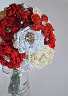 ramo bouquet novia crochet-otakulandia.es (8)